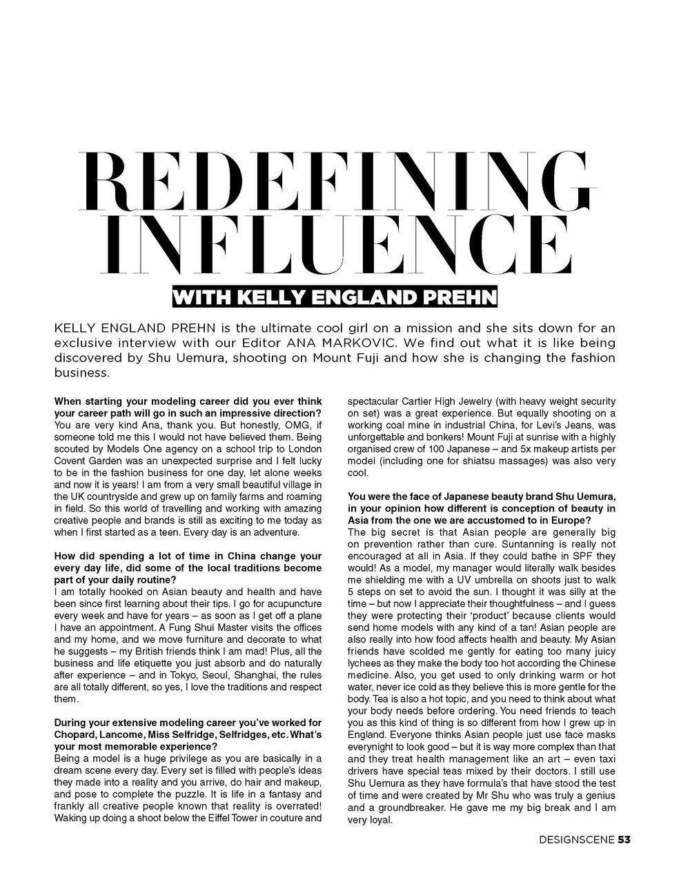Design Scene Editorial