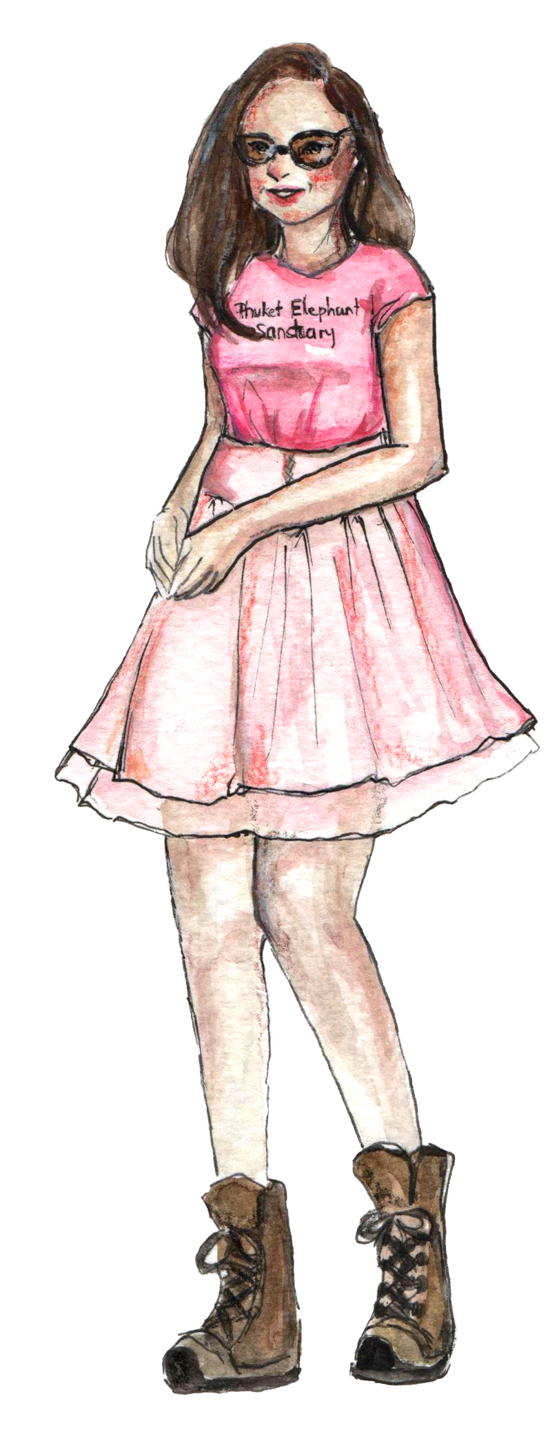 Kelly-England-Cartoon-The Model PNG.png
