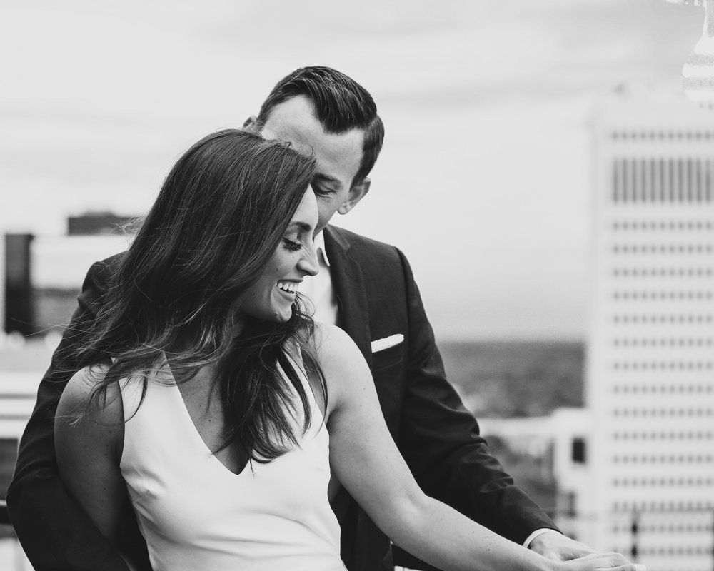 Charlotte Engagement Photo