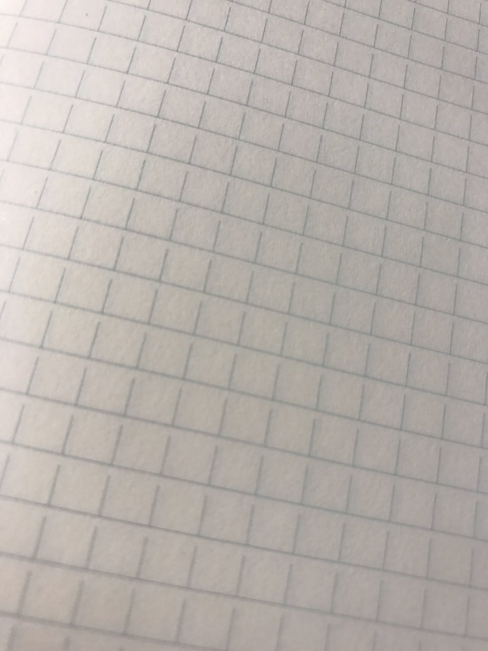I particularly like the unusual open grid of the Midori MD paper. Note how the vertical lines leave gaps underneath each horizontal line. The result is a gestalt impression of openness and a slight horizontal bias that invites writing (as opposed to diagramming on regular full-grid graph paper).