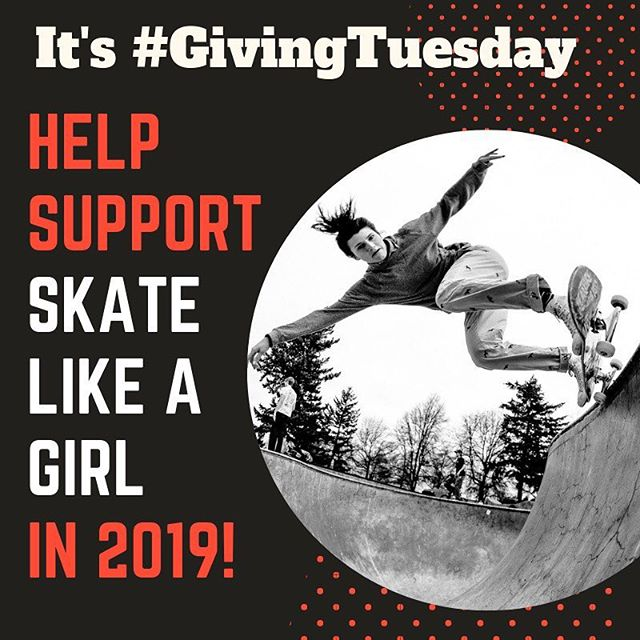 @skatelikeagirl — After you stuffed your bellies and drained your wallets, consider giving back to those non profits that bring your communities together. ❤️ Link in story or @skatelikeagirl 📸 @talroberts