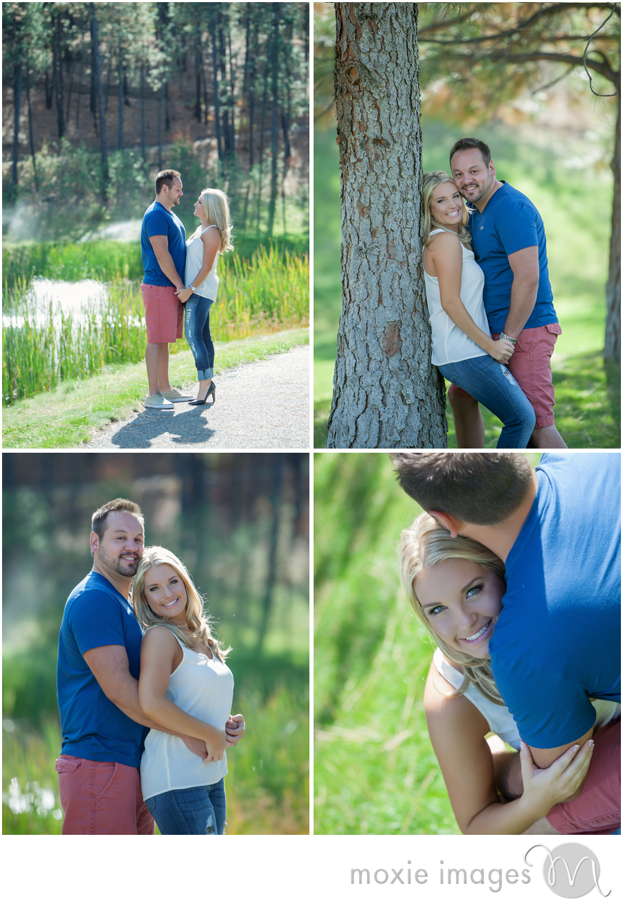 Spokane engagement photo