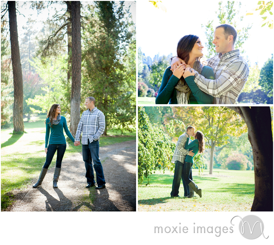 Spokane Engagement Finch Arboretum