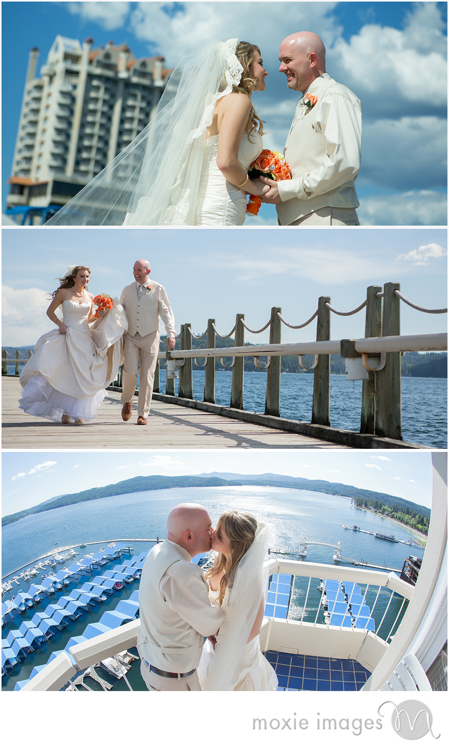 Coeur d'Alene Resort wedding