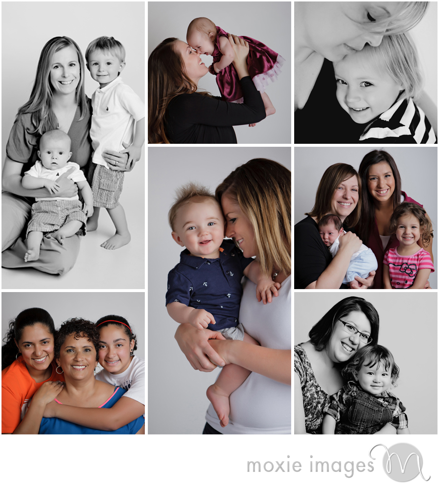 mommy photos in studio