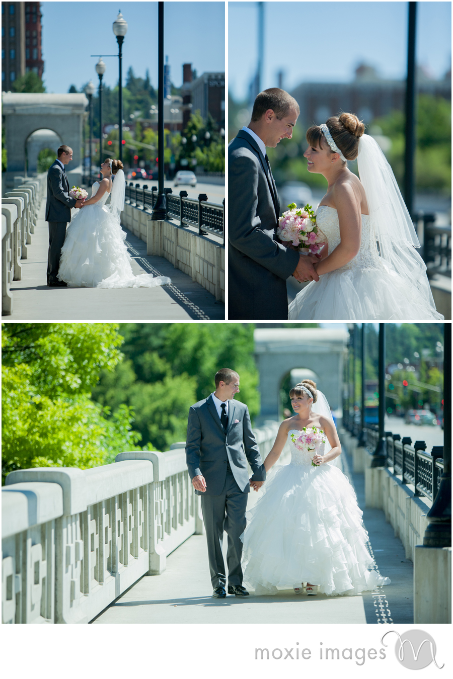 Spokane Wedding Monroe Street Bridge