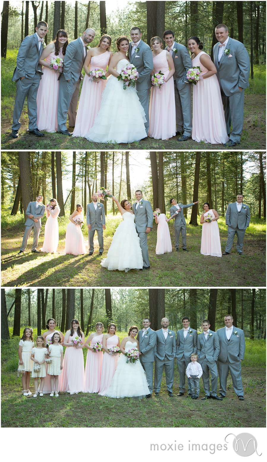 Spokane wedding party