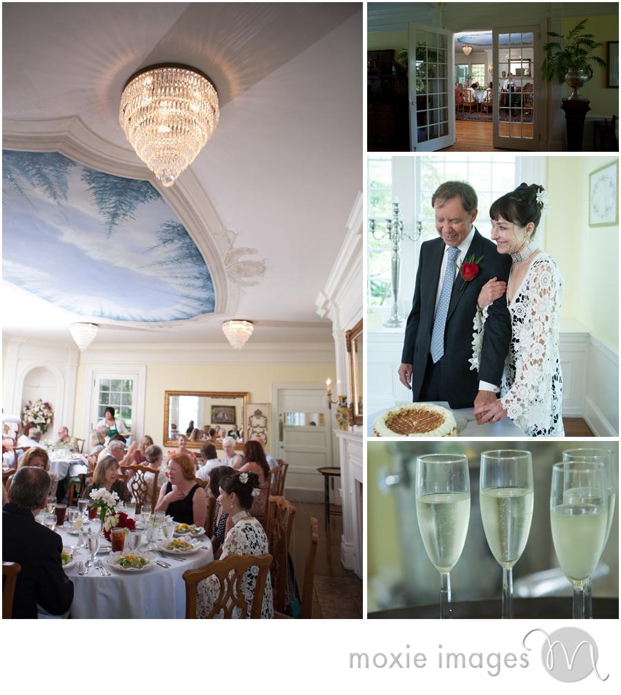Clark House wedding Hayden Lake