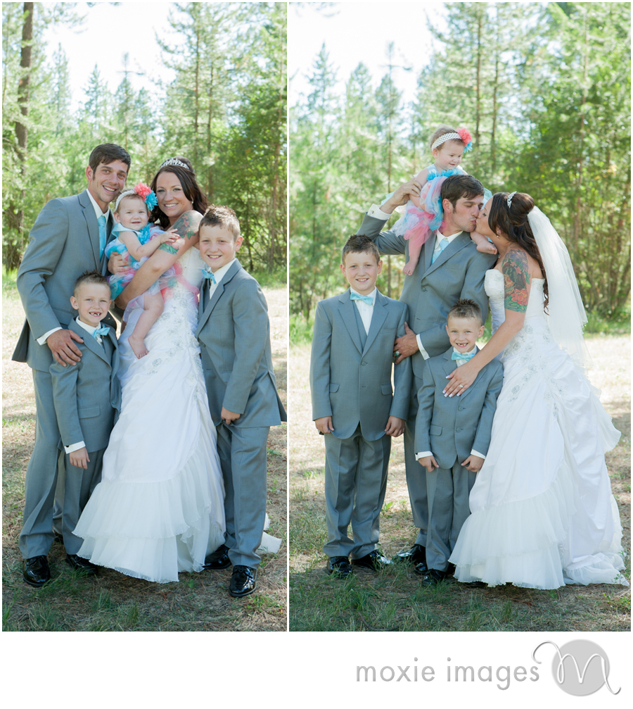 Loon Lake WA wedding