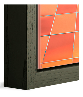 Black Oak Basel Wood frame