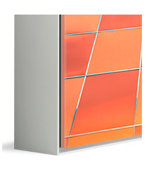 Silver Aluminum ArtBox frame