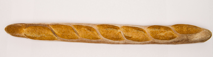 Baguette -  the right ratio of crunch to soft.
