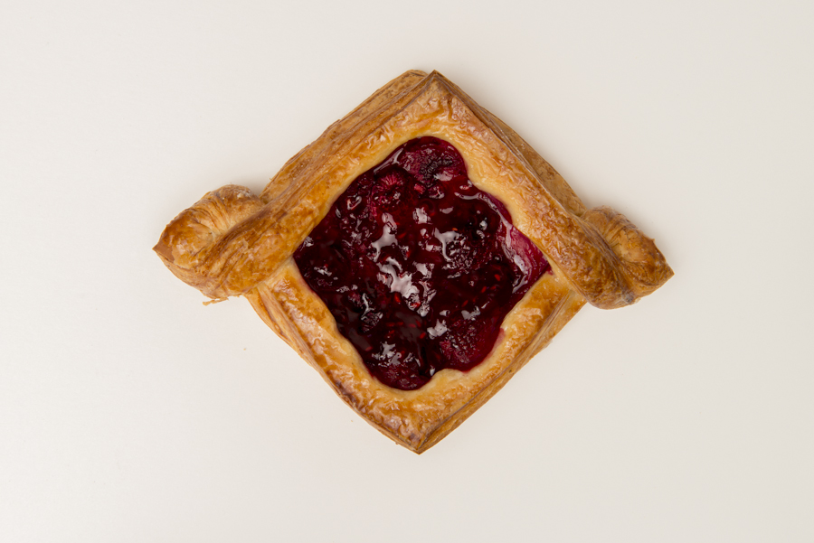 Danish -   comes in a variety of flavours: Raspberry, Blackberry, Blueberry and Sour Cherry.