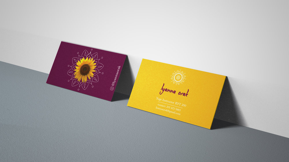 Yoga Business Card — Julie Eck