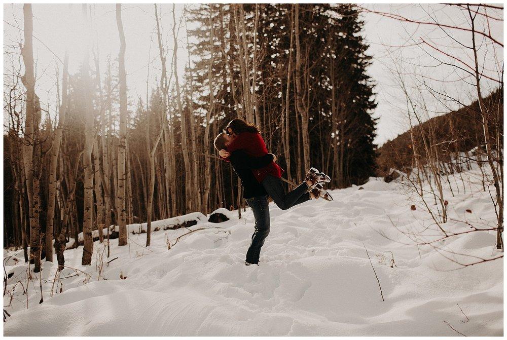 Morgan and Dean - Breckenridge Colorado Engagement