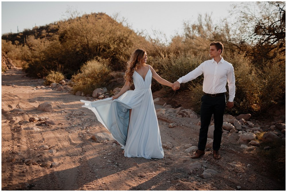 Macy and Evan - Superstition Mountain Shoot