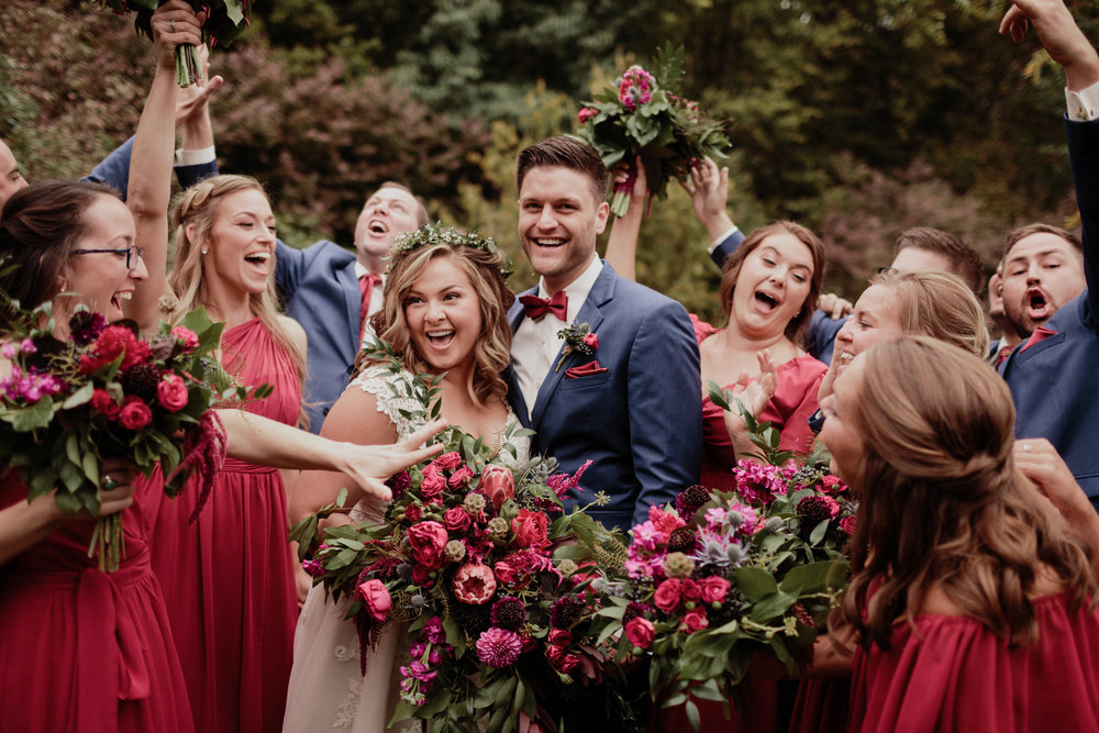 Lindsay and Alex - Gorgeous Outdoor Wedding