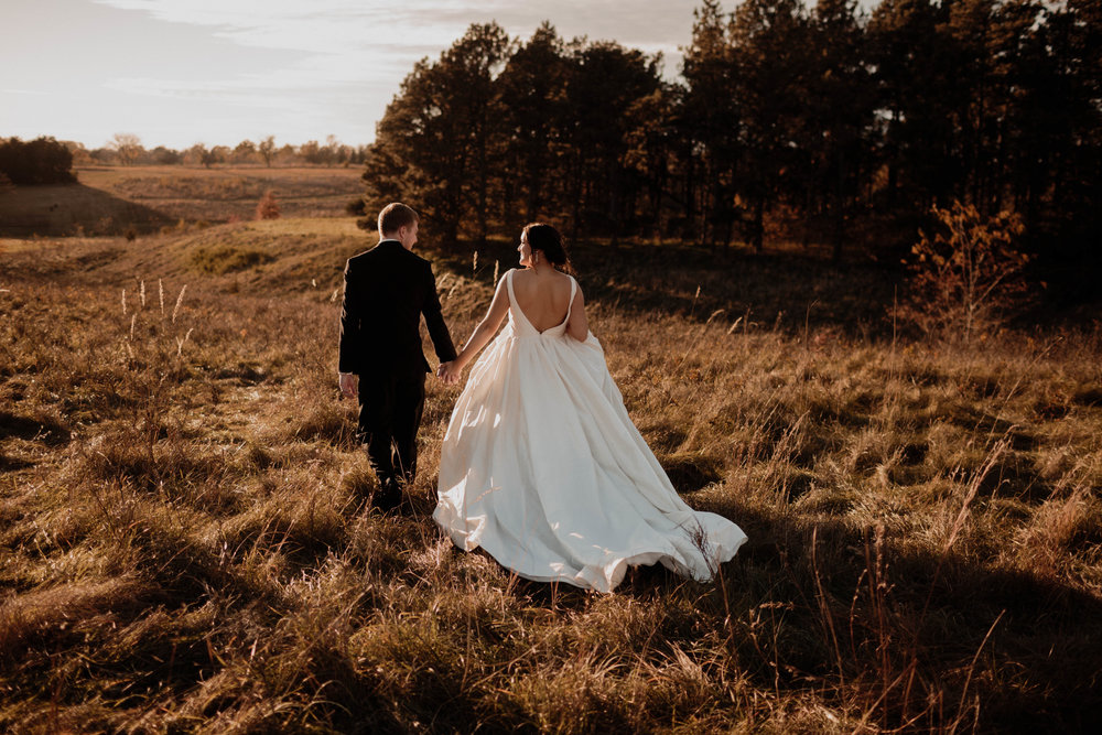 Morgan and Dean - Romantic Fall Wedding