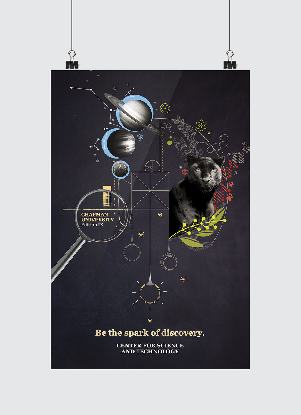 Chapman University Graphic Design Portfolio: Chapman University7s 2017 Commemorative Poster u2014 Sam Swenorrh:sswenordesign.space,Design