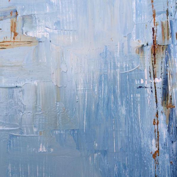 Sky | 24 x 24 | oil on wood