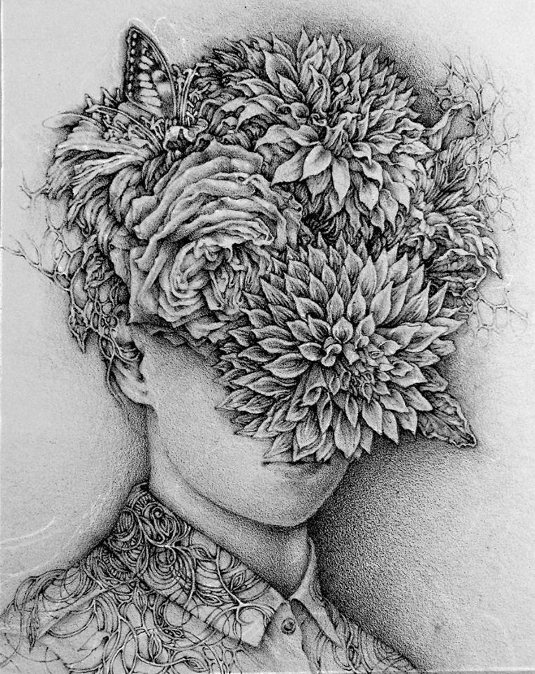 植物和生命系列:大麗花
