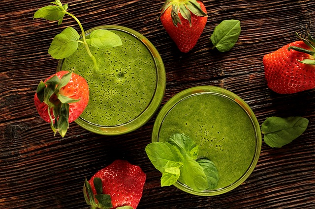 You can add powederd wheat grass to just about anything