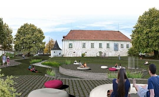 Wettbewerb Schloss Lengenfeld, Visualisierung  (ARGE Architekt Strixner ZT GmbH)