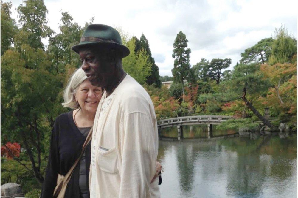 ラリー・ウオードとペギー・ウオードさん(2017京都)