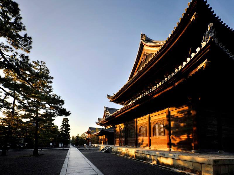 妙心寺、南門から中に入る