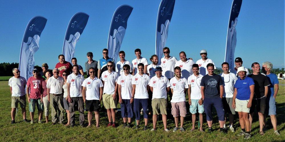 Die PIloten der JSM 2017 mit dem JSM Team