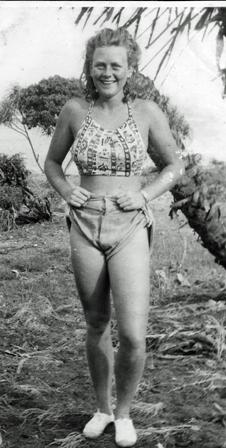 Neville, Sand Island Beach, 1945