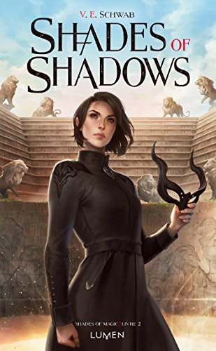 Lila Bard on the French cover of book # 2 in the series