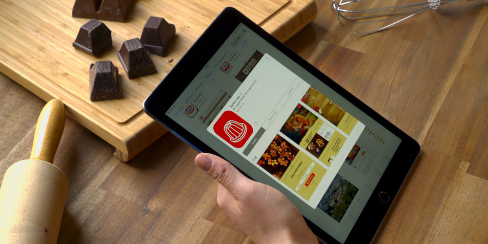 Simply download the BACKEN App and get started.