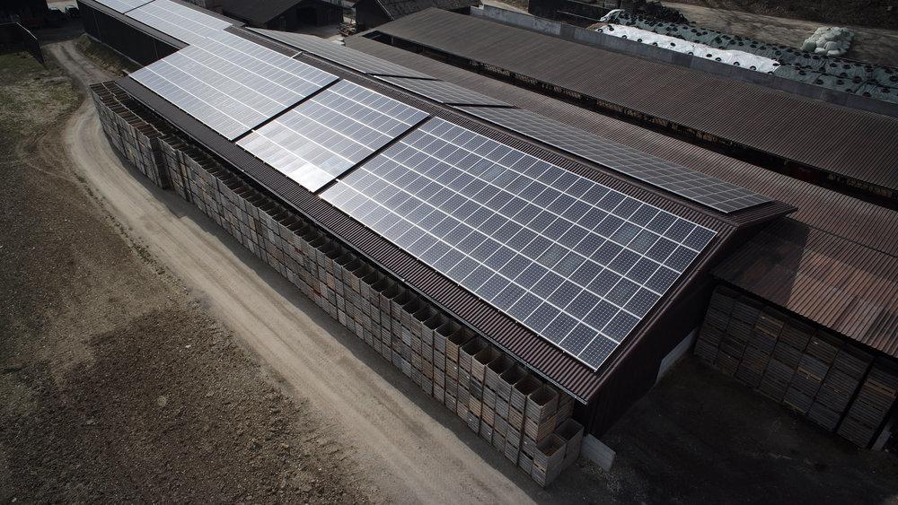 Solaranlage Unterbuck PVA Müller Thayngen Energiewirt