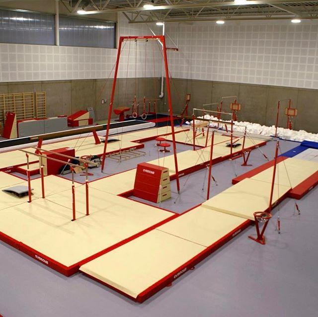 Vår flotte turnhall 🤸🏻♂️🤸♀️ #leirskallenturnhall #nordstrandturn #ntf #gymnova #gymnastics #turn