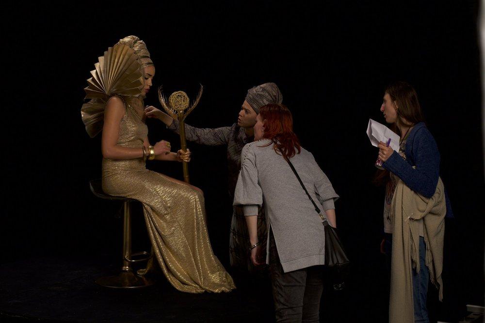 """Making of """"Queen"""""""