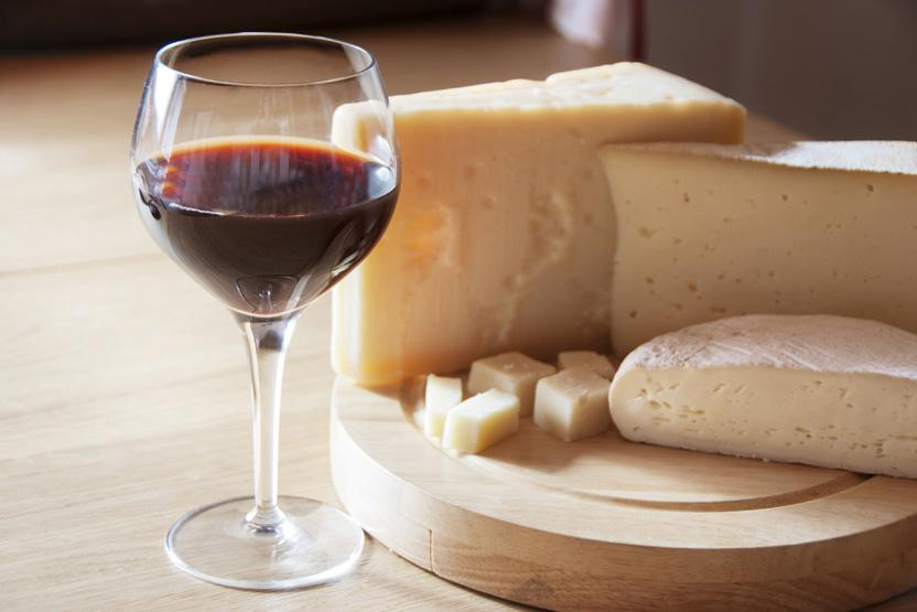 Small amounts of cheese are a healthy part of the Mediterranean diet