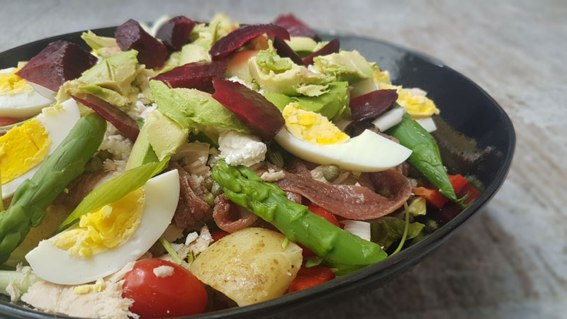 Nutrition Therapy Summer Salad