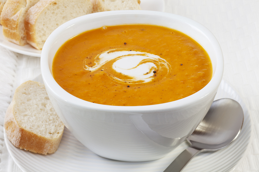 Learn to make this warming pumpkin soup