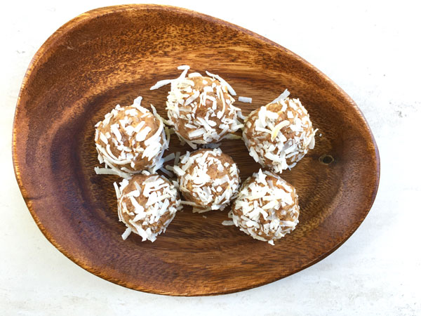 Coconut Power Balls