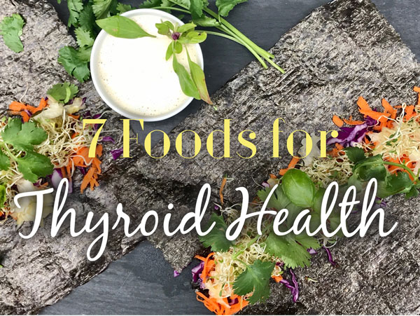 - Would you like to start looking after your thyroid health today? Learn about the foods that will make a difference in this short article.