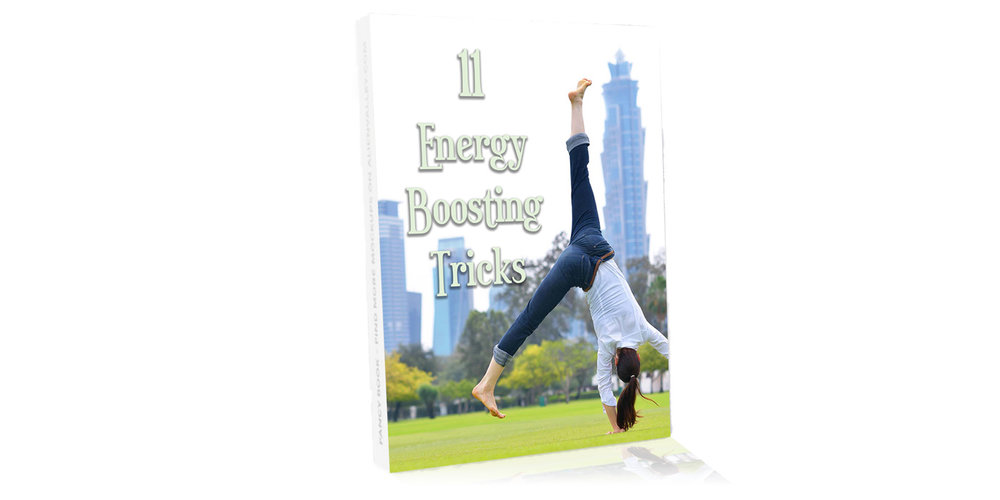 11 Energy Boosting Tricks - Are you feeling low on energy? Follow these tips to get your energy back on track.