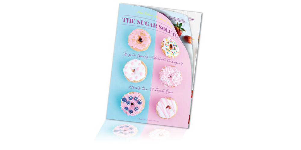 The Sugar Solution - Are you worried about your family's sugar intake? This colourful guide offers some easy, practical tips that will help you to wean your loved ones off their sweet obsession.
