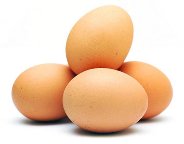 4 healthy eggs