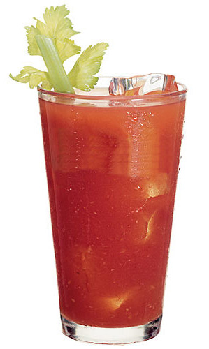 a keto-friendly bloody mary with vodka