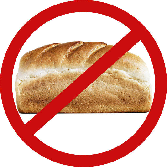 avoid bread when on a ketogenic diet