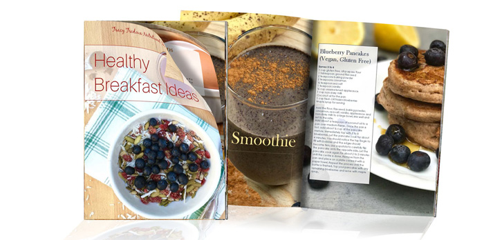 A nutritional therapist's guide to eating a healthy breakfast. multiple recipe ideas including juices and smoothies.