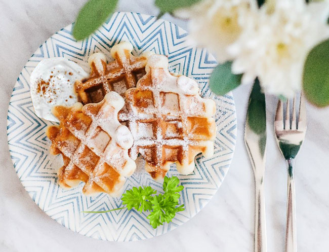 Cauliflower waffles are a nutritious and tasty breakfast idea for anyone following a keto diet
