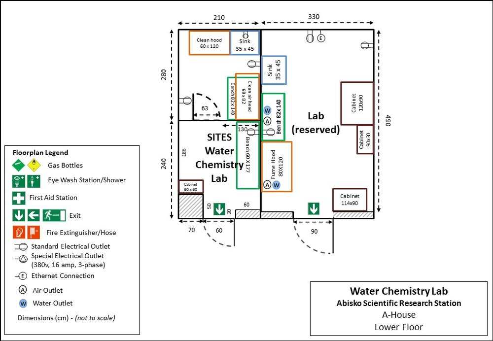 ANS Laboratory Map SITES Water Chemistry Lab.JPG