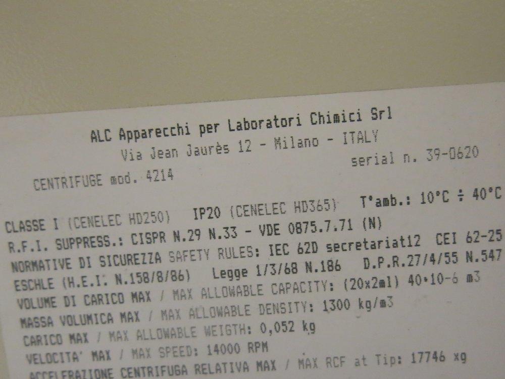 ALC Centrifuge 4214_03.JPG